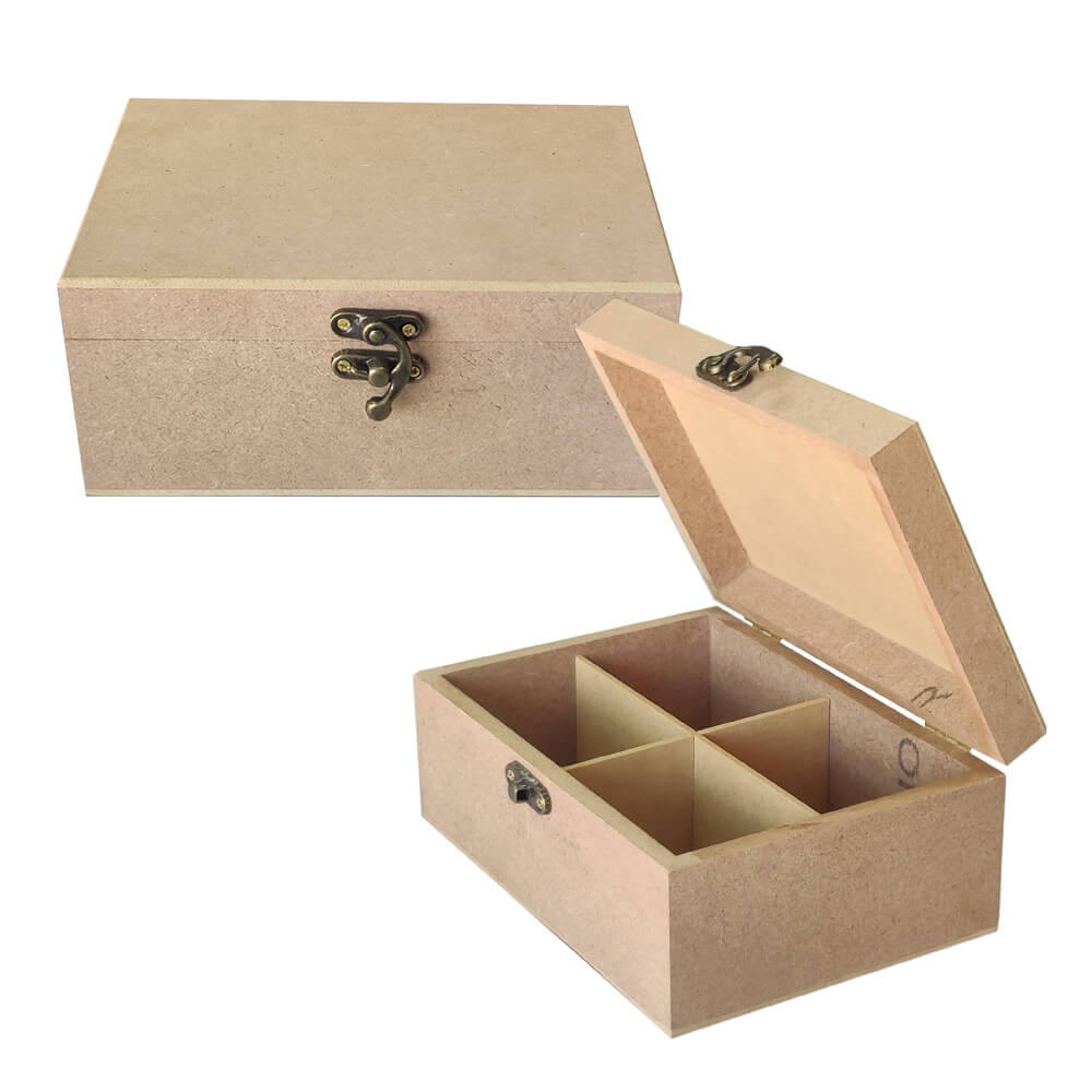 Set of 10 MDF Jewellery Boxes