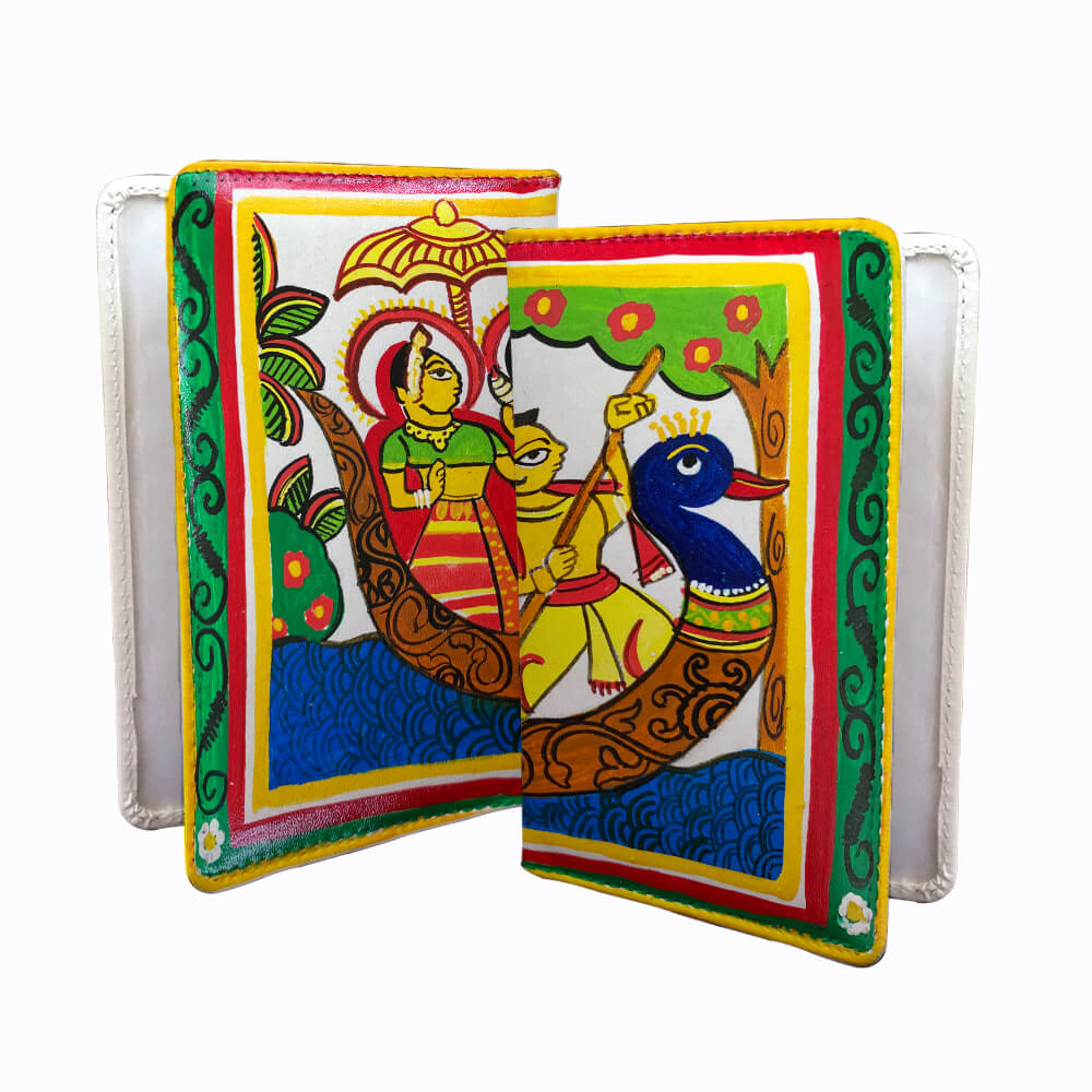 Cheriyal Painting on Passport Cover DIY kit