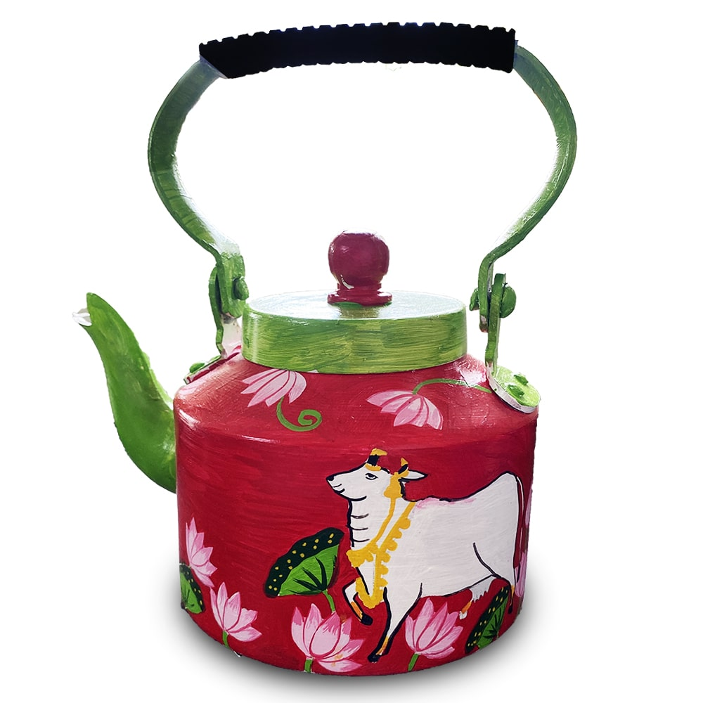 Pichwai Painting on Kettle DIY kit