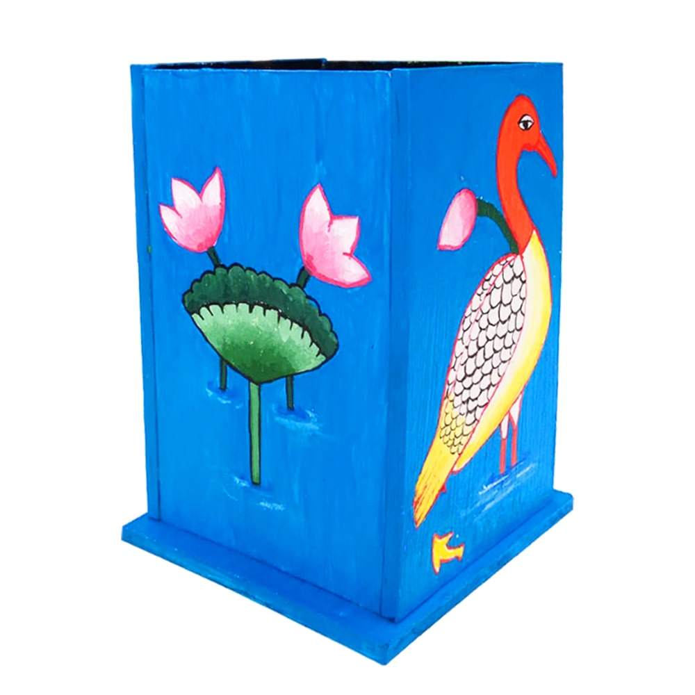 Pichwai Painting on Pen Stand DIY kit