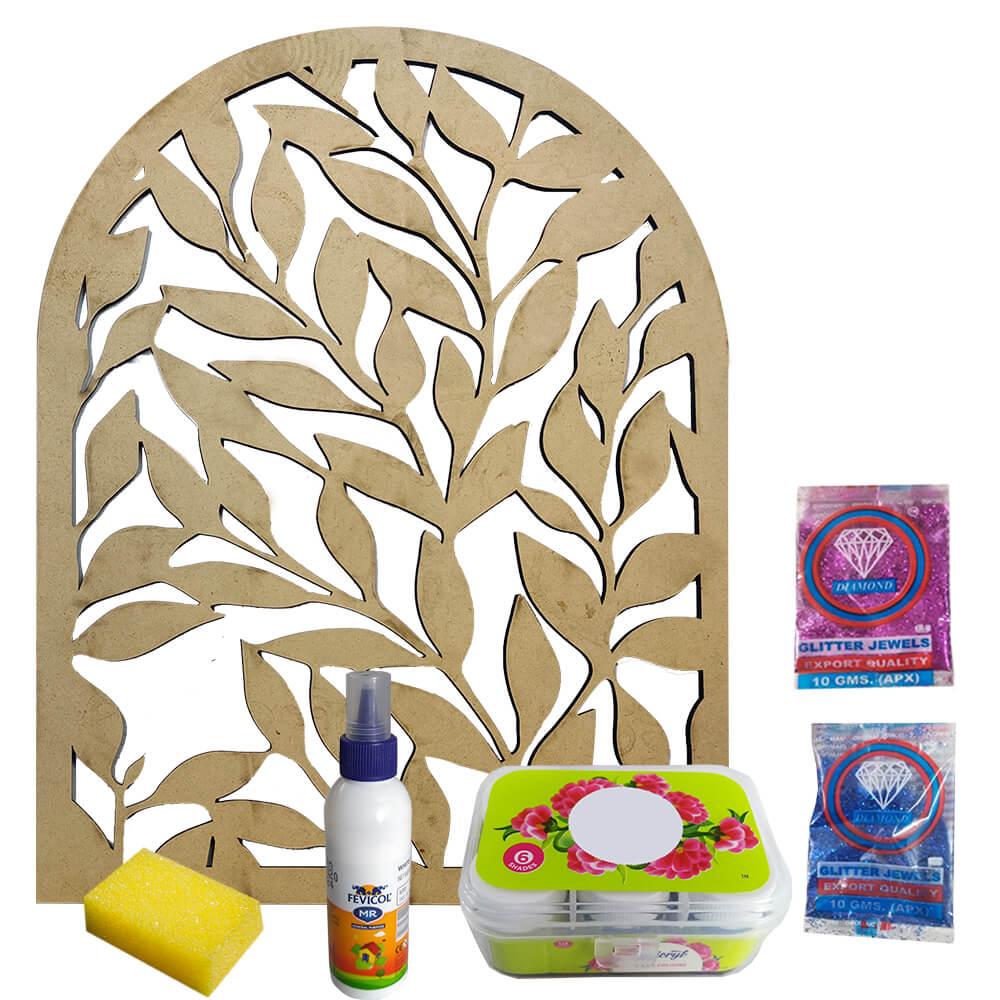 Ganpati Makhar Decoration DIY Kit